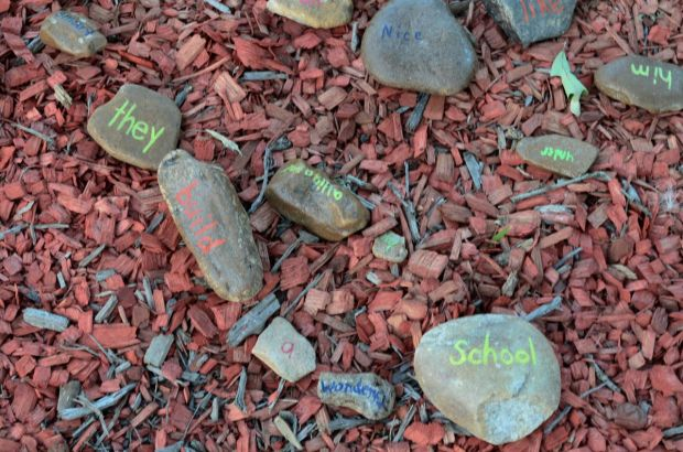 Word play in the outdoor classroom