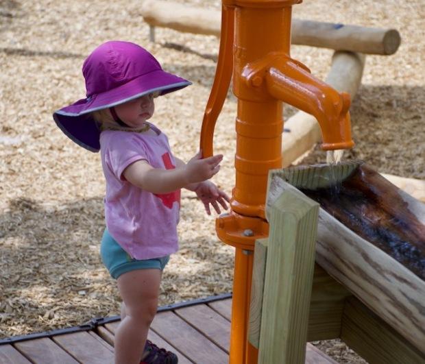 Roney at Little Acorn Park